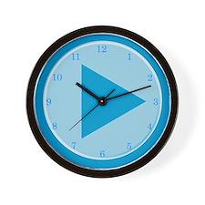 Video Player Wall Clock