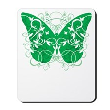 Organ-Donor-Butterfly-blk Mousepad