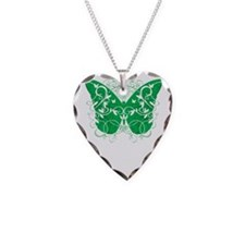 Organ-Donor-Butterfly-blk Necklace