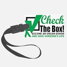 Organ-Donor-Check-the-Box Luggage Tag