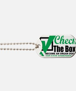 Organ-Donor-Check-the-Box Dog Tags