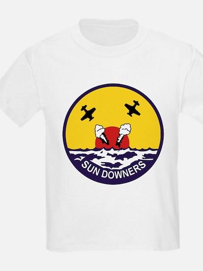 VF-111 Sundowners Kids T-Shirt