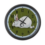 White Rabbit Large Wall Clock