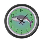 Whale Large Wall Clock