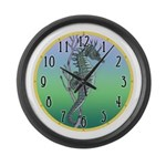 Sea Horse Large Wall Clock