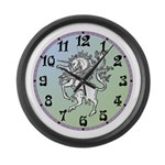 Unicorn Large Wall Clock