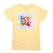 Plumeria Color Girl's Tee