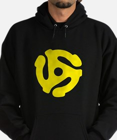 45 Record Adapter Hoodie
