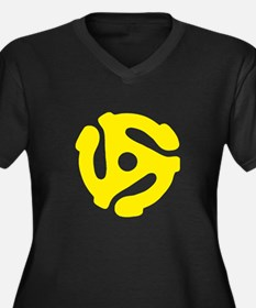 45 Record Adapter Plus Size T-Shirt