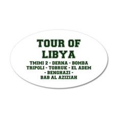 TOUR OF LIBYA Wall Decal