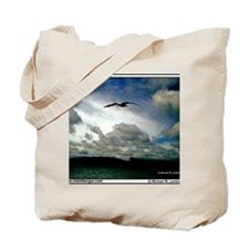 Z-05- Bird Sky Minnesota Tote Bag