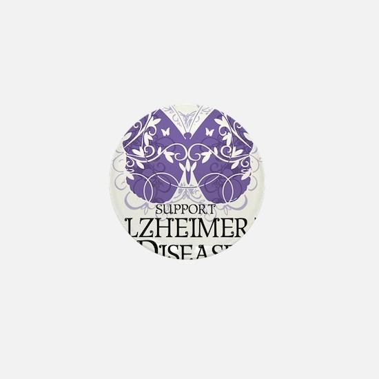 Alzheimers-Butterfly Mini Button