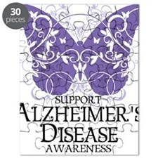 Alzheimers-Butterfly Puzzle