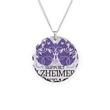 Alzheimers-Butterfly Necklace