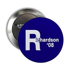R: Richardson '08 Button