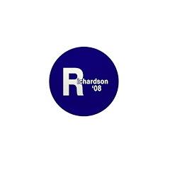 R: Richardson '08 Mini Button (100 pack)