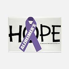 Alzheimers-Hope Rectangle Magnet