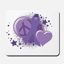 Alzheimers-PLC-blk Mousepad