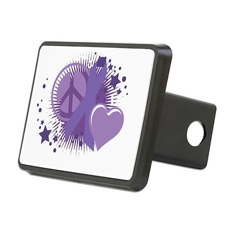 Alzheimers-PLC-blk Rectangular Hitch Cover