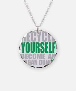 Recycle-Yourself-Organ-Donor Necklace