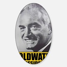 ART Goldwater for President Sticker (Oval)
