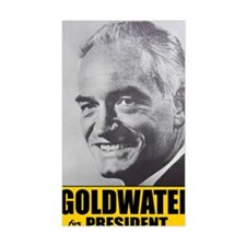 ART Goldwater for President Decal