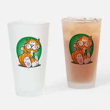 Organ-Donor-Cat-blk Drinking Glass
