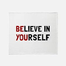 Believe In Yourself Throw Blanket