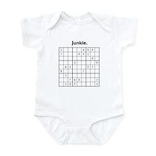 Sudoku Junkie Infant Bodysuit