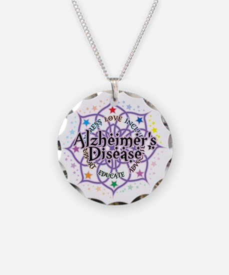Alzheimers-Lotus Necklace