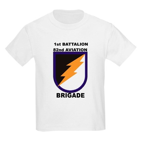 1st Battalion 82nd Aviation Brigade Kids T-Shirt
