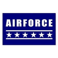 Airforce Rectangle Decal
