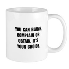 Blame Complain Obtain Mugs