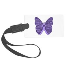 Butterfly General Cancer Luggage Tag