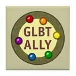 Ally Baubles -GLBT- Tile Coaster