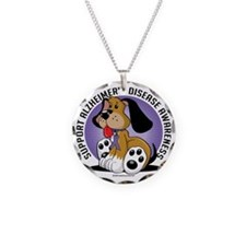Alzheimers-Dog Necklace