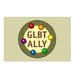 Ally Baubles -GLBT- Postcards (Package of 8)