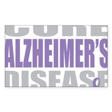 Cure-Alzheimers-2009-blk Decal