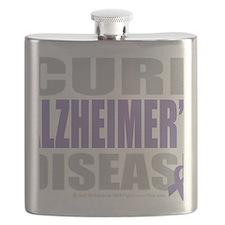 Cure-Alzheimers-2009-blk Flask