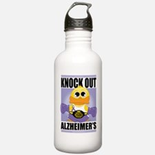 Knock-Out-Alzheimers Sports Water Bottle