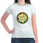 Ally Baubles -GLBT- Jr. Ringer T-Shirt