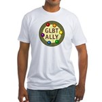 Ally Baubles -GLBT- Fitted T-Shirt
