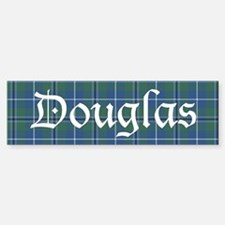 Tartan - Douglas Bumper Bumper Sticker