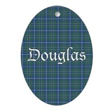 Tartan - Douglas Ornament (Oval)