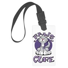 Paws-for-the-Cure-Cat-Alzheimers Luggage Tag