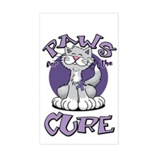 Paws-for-the-Cure-Cat-Alzheime Decal