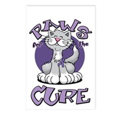 Paws-for-the-Cure-Cat-Alz Postcards (Package of 8)