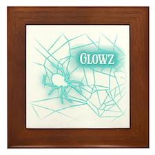 OWLcoholics_Glowz_10x10 copy Framed Tile