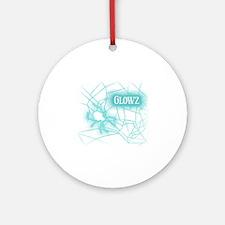 OWLcoholics_Glowz_10x10 copy Round Ornament