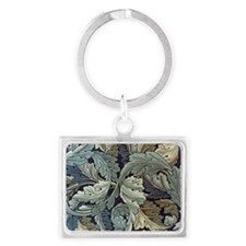 William Morris Acanthus Landscape Keychain